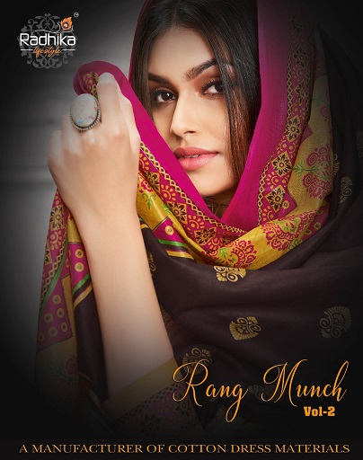 Radhika Rung Munch 2 Casual Wear Printed Cotton Collection b2btextile.in