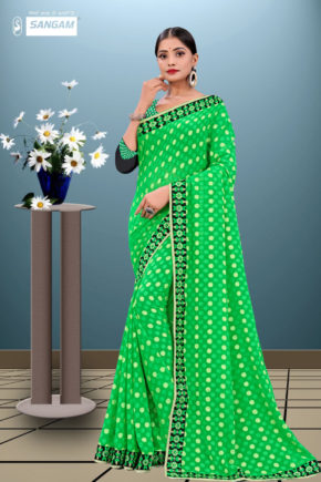 Sangam Pihu 2 Casual Wear Georgette Sarees Collection b2btextile.in