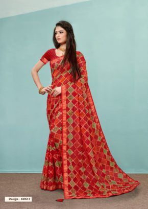 Humble Georgette Casual Wear Saree Collection b2btextile.in