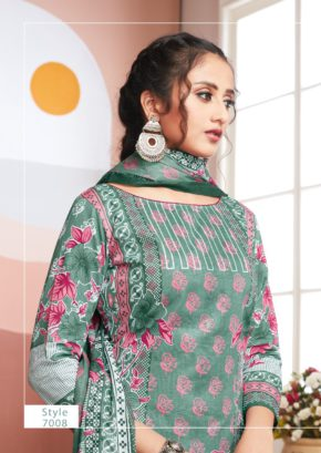 Akash Noor E Shabhnam 7 Cotton Dress Material Collection b2btextile.in