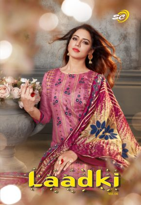 Shrinath Creation Laadki 8 Cotton Dress Material Collection b2btextile.in