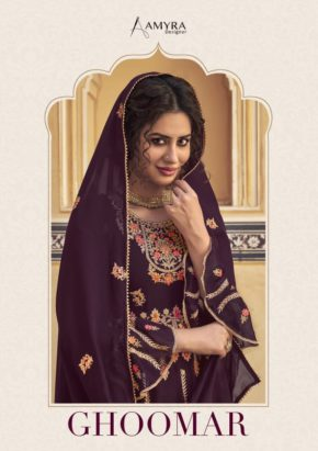 Amyra Ghoomar Exclusive Embroidery Salwar Kameez b2btextile.in