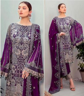 Charizma Designer D No-90006 Faux Georgette Embroidered Salwar Suit Collection b2btextile.in