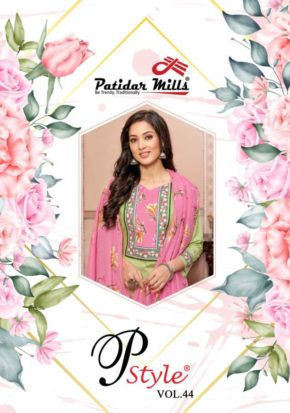 Patidar P Style 44 Printed Cotton Dress Material Collection b2btextile.in