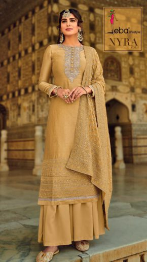 Eba Nyra 1 Maheshwari viscose silk with hevey emboidery Salwar Suit b2btextile.in