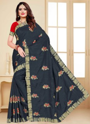 Ronisha One plus Dola Silk With Embroiderey Saree Collection b2btextile.in